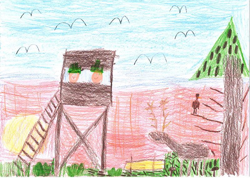 Hubertský den 2015 – obrázky dětí